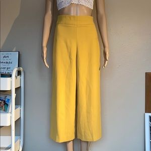 EXPRESS High-rise Cropped Culottes